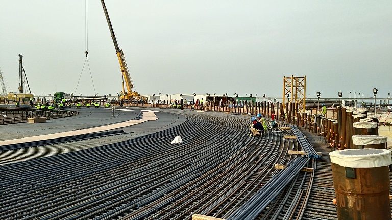 Krybar<sup>®</sup> in the Al-Zour LNG project in Kuwait - Bars & Rods
